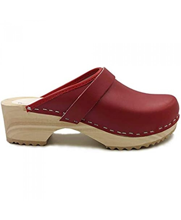 World of Clogs AM100 Swedish Wooden Clogs