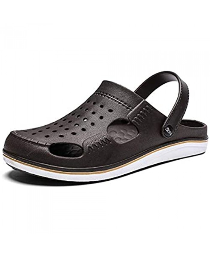 YXDCHW Men's Women's Breathable Uppers Quick-Drying Garden Sandals Beach Slippers Mules & Clogs Shoes Slip on