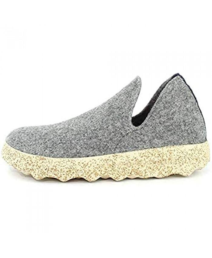 Asportuguesas Womens City Tweed Slip On Sneaker