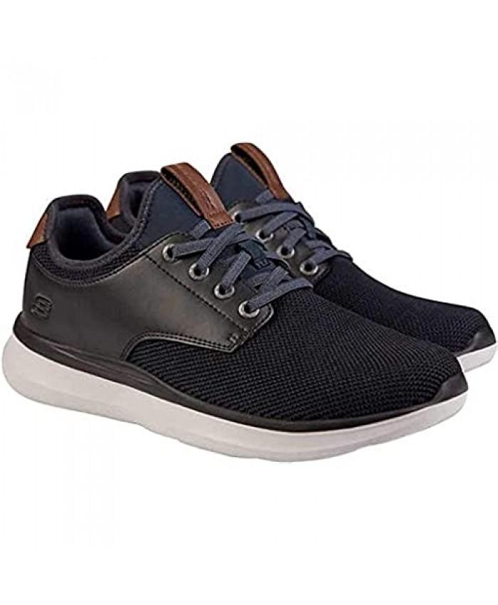 Skechers Men's Slip On Shoe Navy/Black