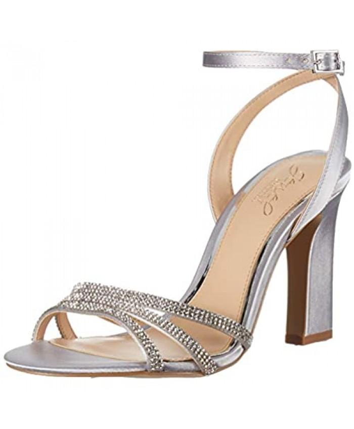 Jewel Badgley Mischka Women's Sparkle Heeled Sandal