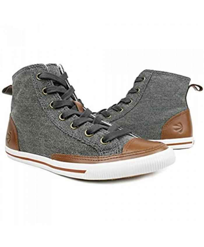 Burnetie Men's High Top Vintage Sneaker