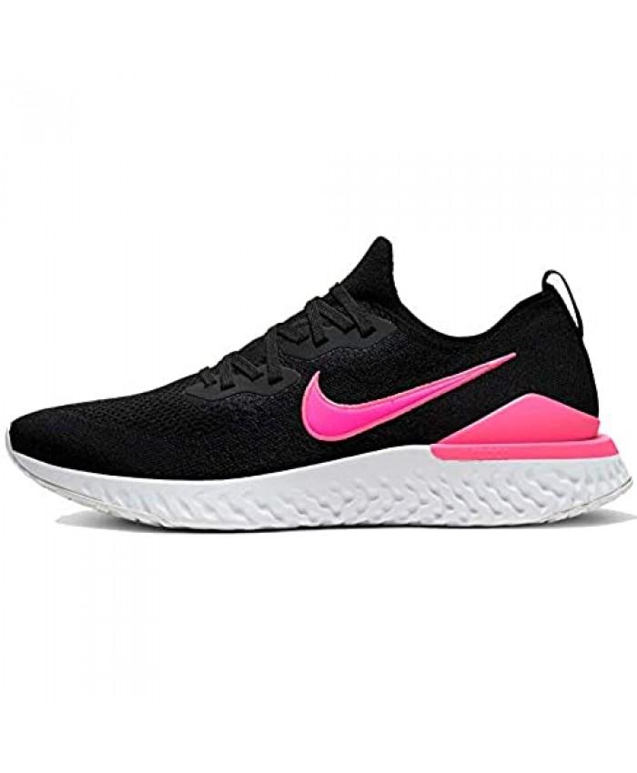 Nike Mens Epic React Flyknit 2 Black/Pink Bq8928 013 Size - 11