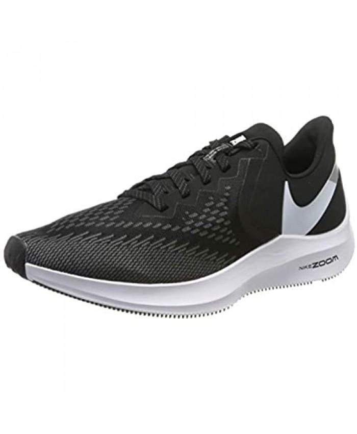 Nike Men's Running Shoes Black (Black/White/Dk Grey/MTLC Platinum 001) Womens 8