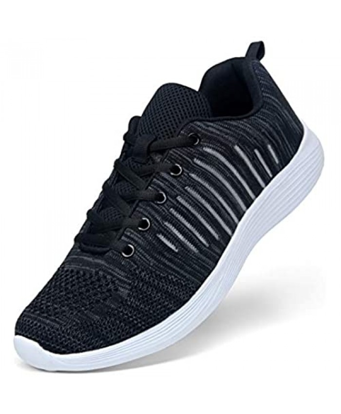 VOSTEY Men's Tennis Shoes Running Shoes Mens Sneakers Athletic Shoes Walking Gym Shoes for Men