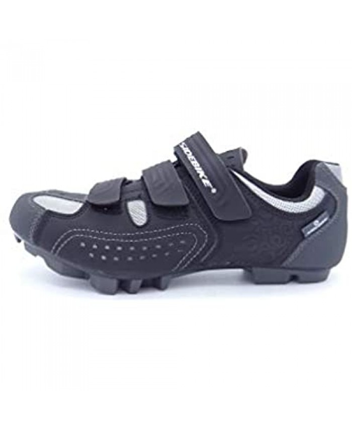 Sidebike Sport Cycling Shoes Mountain Bike MTB BMX Cyclocross Gravel Biking Indoor Spinning - SPD Cleat Compatible - Molded Nylon Sole