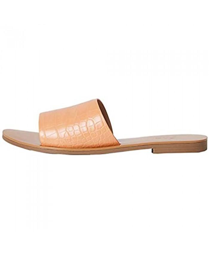 Brand - find. Flat Simple Mule Women's Open Toe Sandals