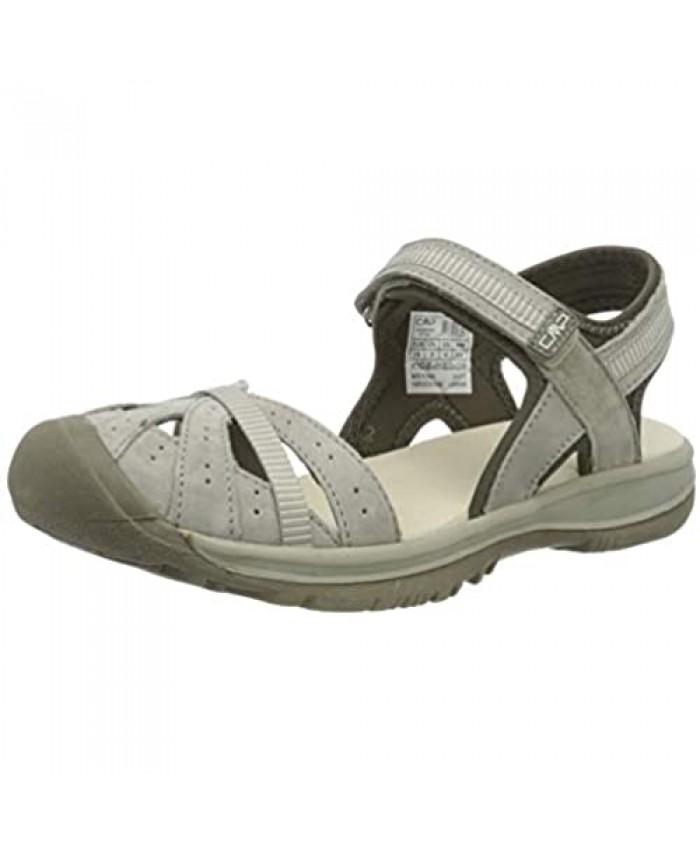 CMP – F.lli Campagnolo Women's Low Trekking and Walking Shoes Hiking Sandals Grey Corda P753 10