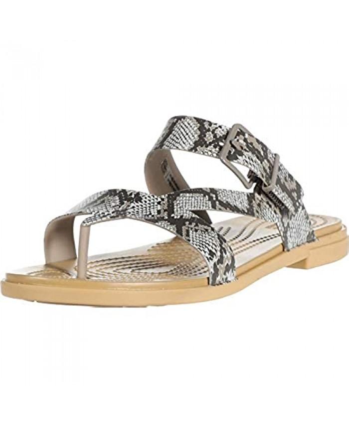 Crocs womens Tulum Toe Post Sandal