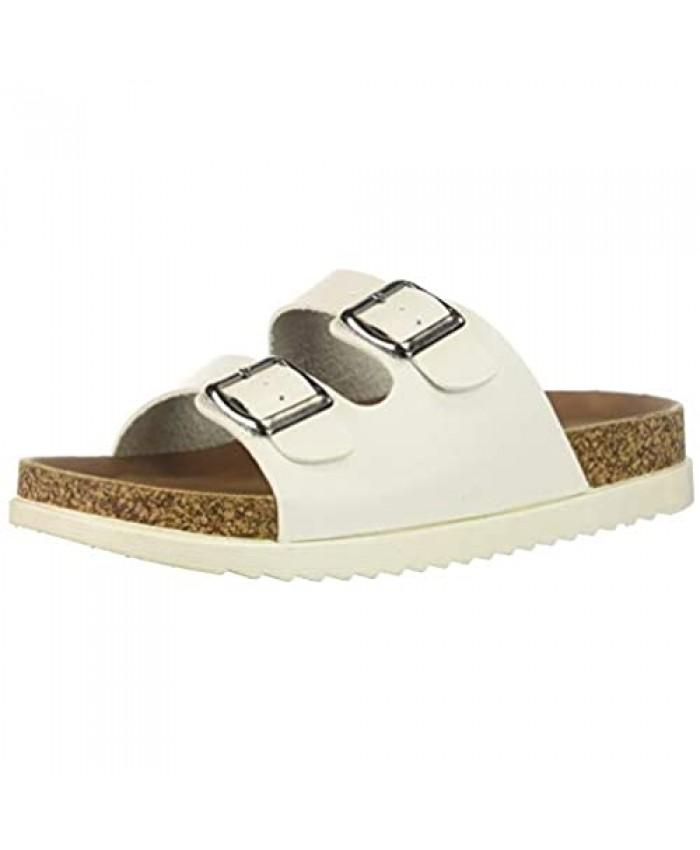 Madden Girl Women's Goldiie Slide Sandal